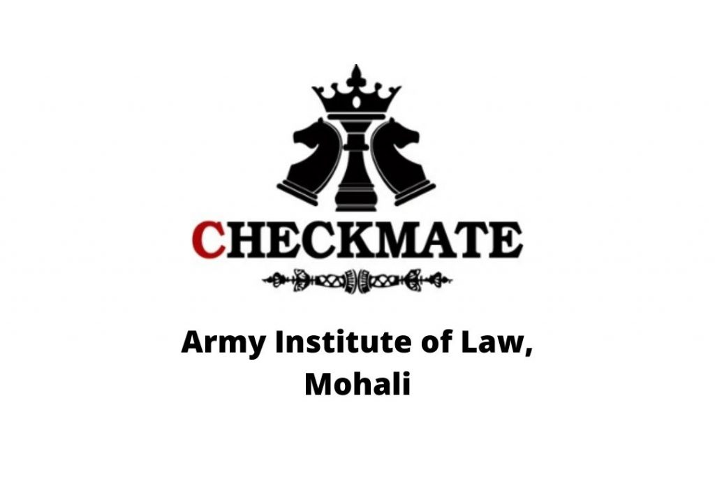 logo of army institute of law ail mohali