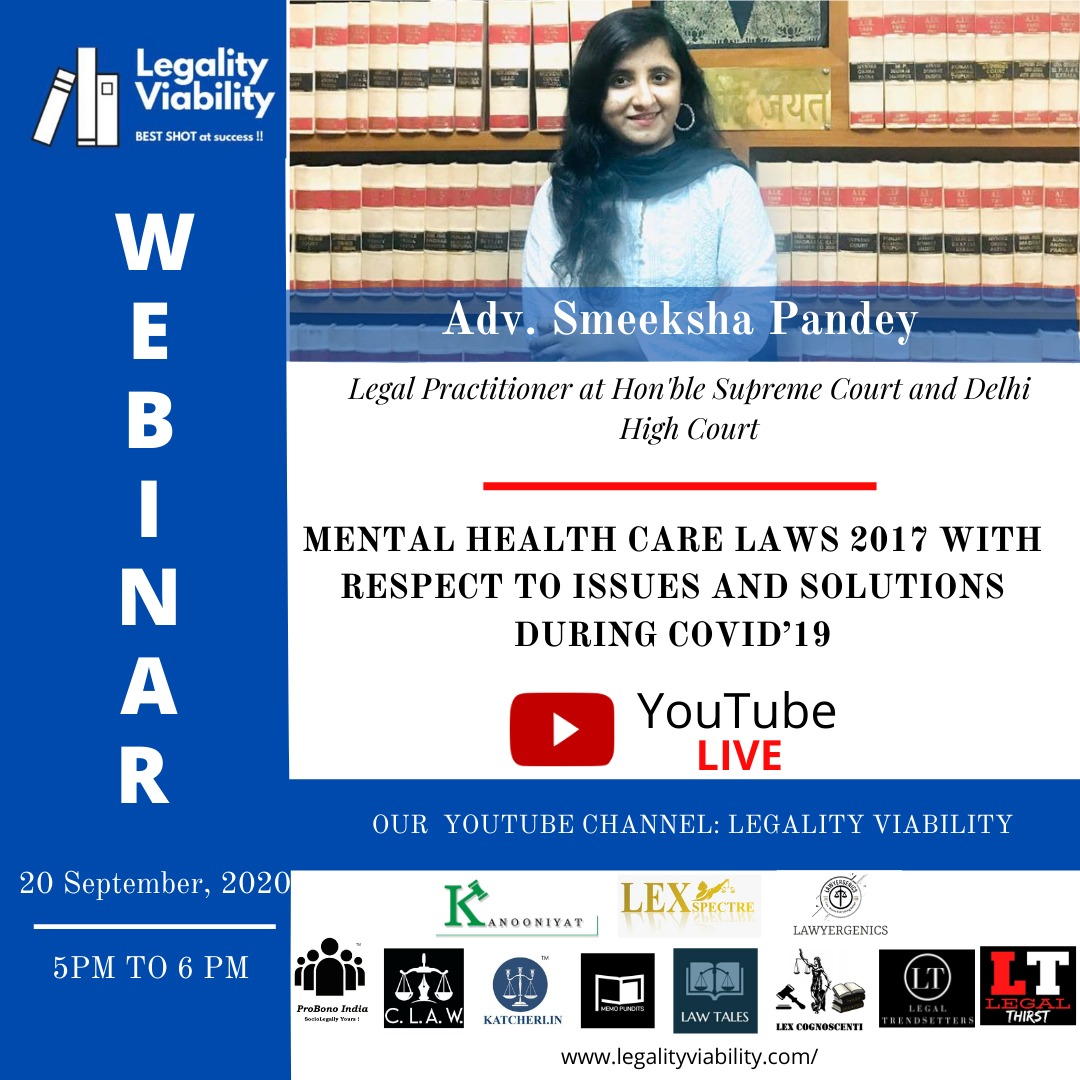 """[FREE] Webinar for law students 