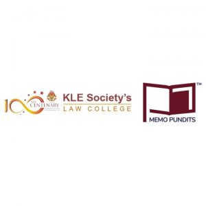Logo of KLE Society's of Law and Memo Pundits