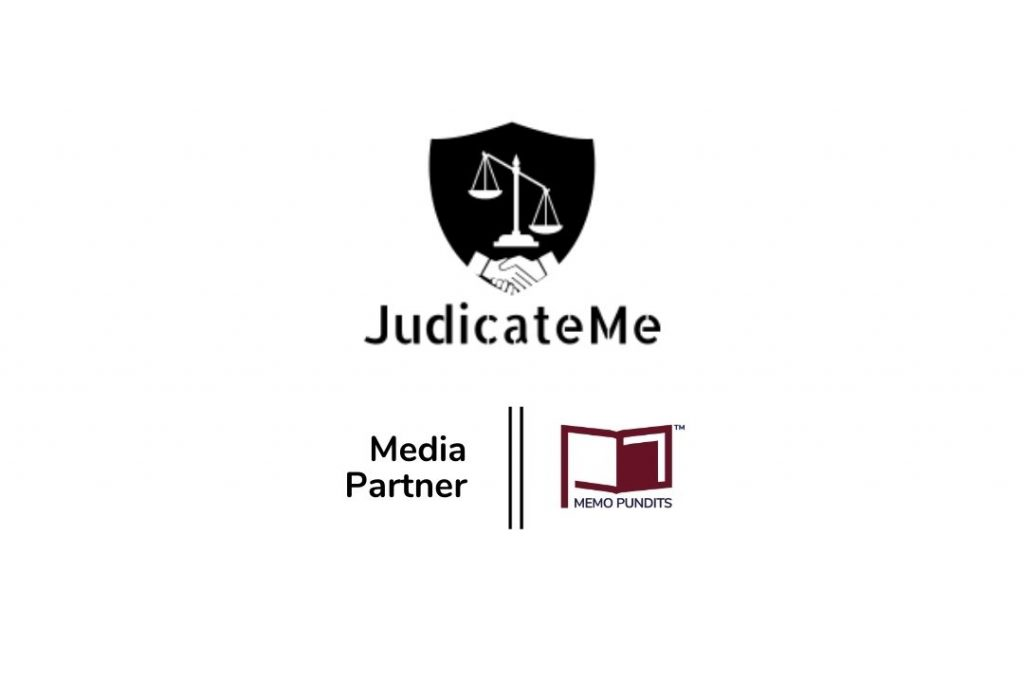 Logo of JudicateMe and Memo Pundits