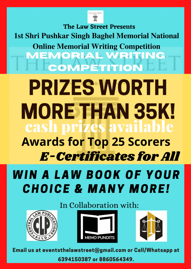 National Online Memorial Writing Competition