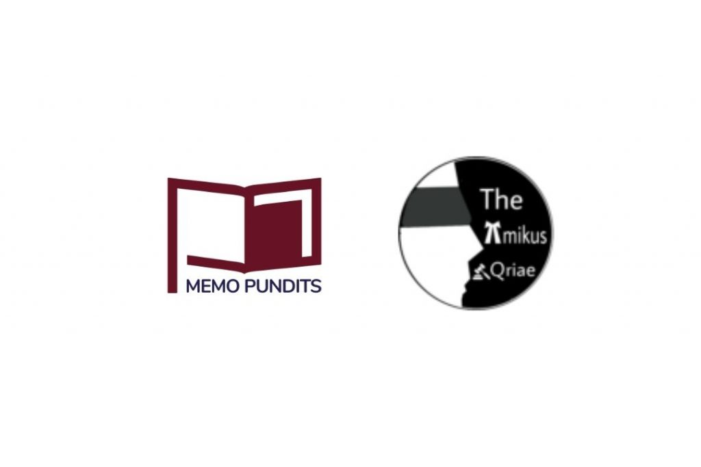 Logo of Memo Pundits and Amikus QRIAE