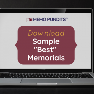 Sample Best moot court Memorial memo pundits download free