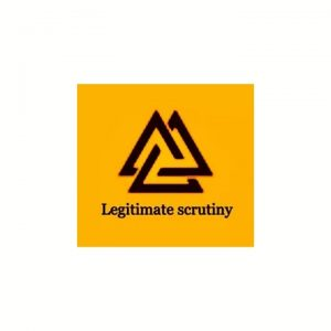 Logo of legitimate scrutiny