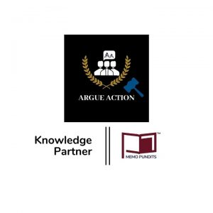 Logo of Argue Action and memo pundits