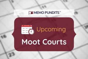 Logo of upcoming moot courts