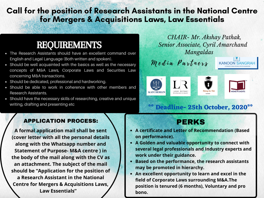 Call for Research Assistants