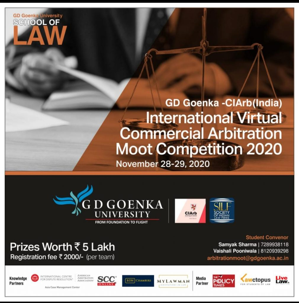 International Virtual Commercial Arbitration Moot Competition