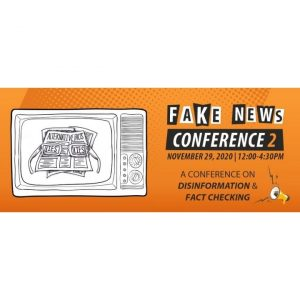 Logo of Fake News Conference