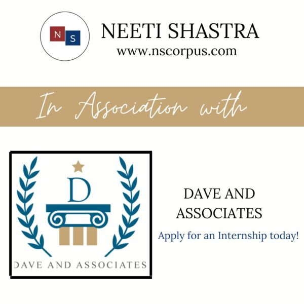 Internship Opportunity with Dave and Associates