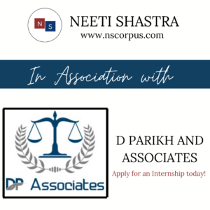Internship Opportunity with D Parikh & Associates