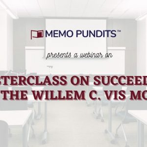 Masterclass on succeeding at the Willem C. Vis Moot