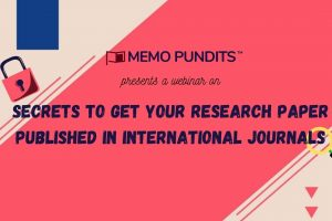 Secrets to get your research paper published in International Journals