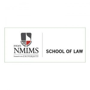 Logo of NMIMS school of law