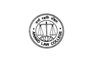 Logo of anand law college