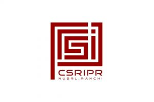 Logo of CSRIPR- NLU Ranchi