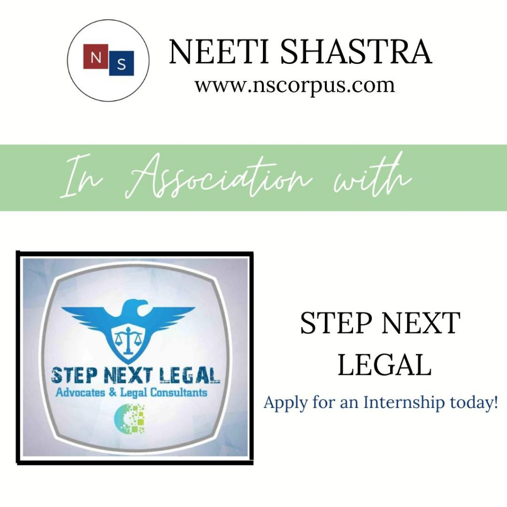 Internship Opportunity with Step Next Legal