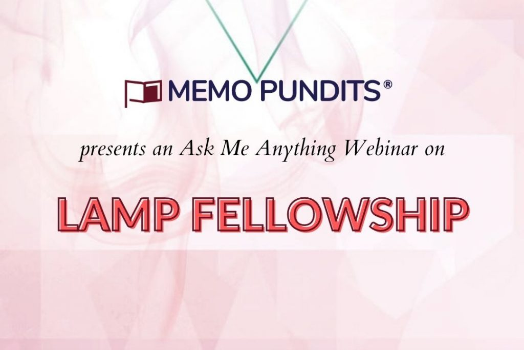 Webinar on LAMP Fellowship