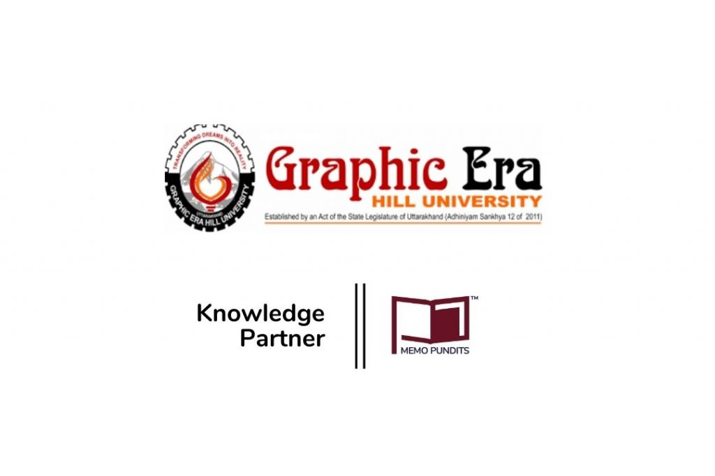 Logo of Graphic Era Hill University- National Moot Court Competition 2021