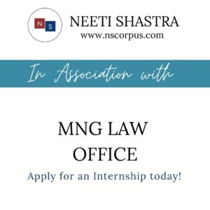 Internship Opportunity at MNG Law Office