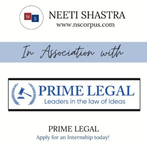 Internship Opportunity at Prime Legal