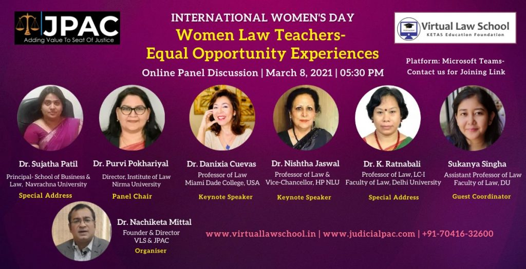 Online Panel Discussion   International Women's Day