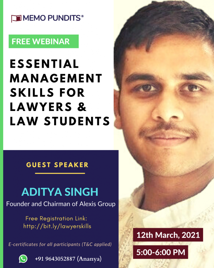 Essential management skills that every lawyer needs to be aware of