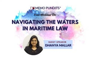 Navigating the waters in Maritime Law