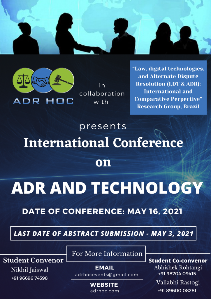 International Conference on ADR and Technology