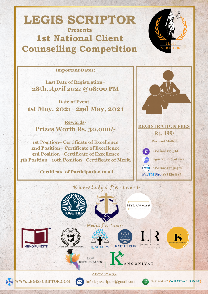 National Client Counselling Competition