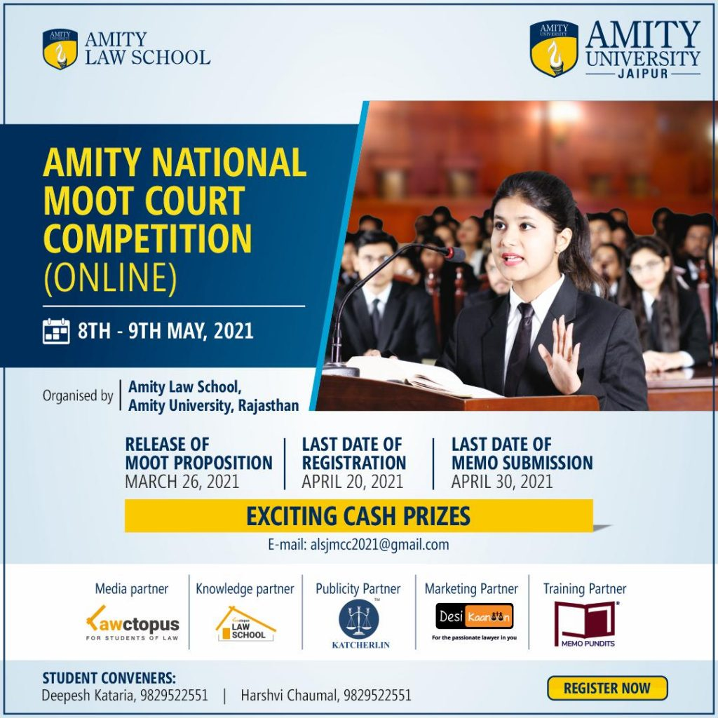 Amity National Moot Court Competition 2021