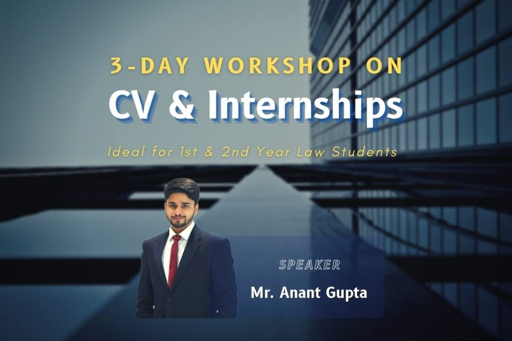 3-Day Workshop on CVs & Internships