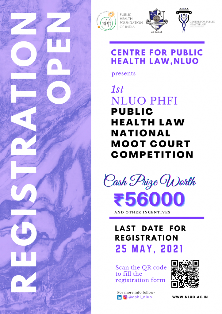 1st NLUO PHFI Public Health Law National Moot Court Competition