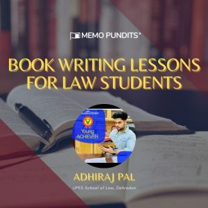 Book Writing Lessons for Law Students