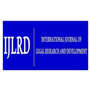 Logo of International Journal of Legal Research and Development