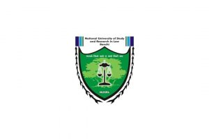 Logo of National University of Study and Research in Law, Ranchi