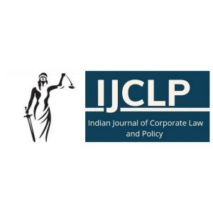 Logo of Indian Journal of Corporate Law and Policy